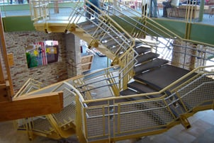 Grand Rapids Childrens Nuseum Staircase 1