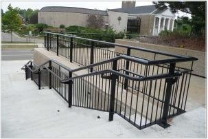 decorative railings. llegan street parking decorative railings n
