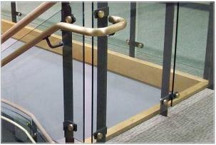 decorative railings. Farmington State Bank Decorative Metal Railings  Stainless Steel 057300