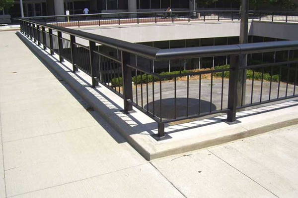 Ovation aluminum railing system. Custom handcrafted systems specifically for your project.