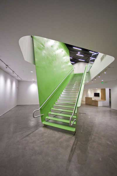 Stairway manufactured by Couturier Iron Craft and designed by Howeler+Yoon for BSA