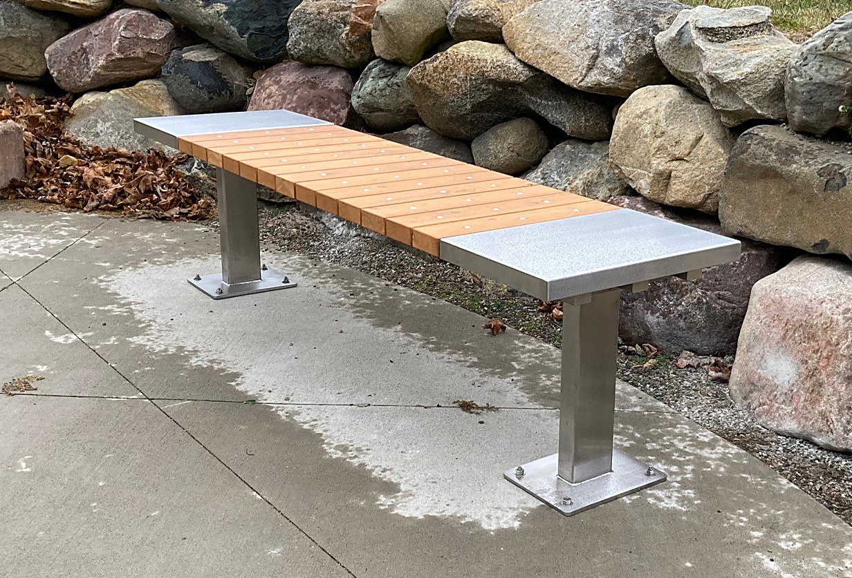Custom-Park-Bench-Stainless-Steel-3